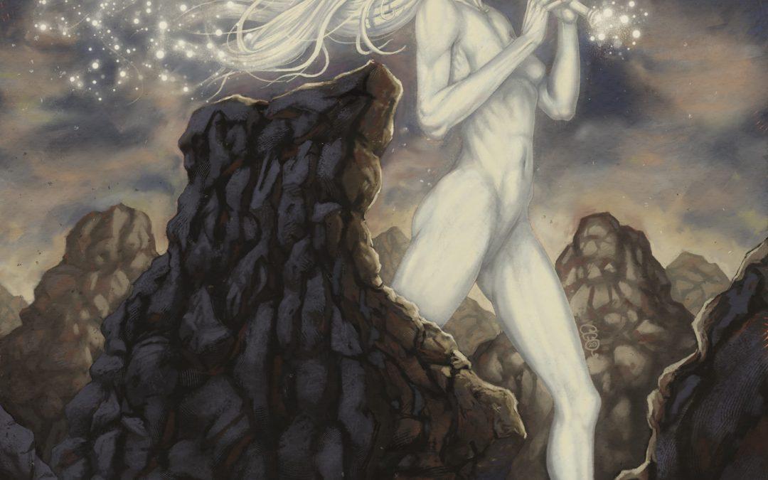 La déesse du vent et de la lumière